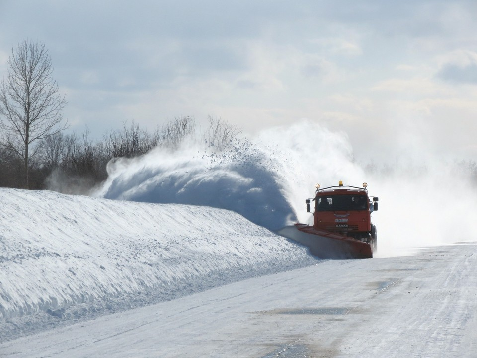 В 9 областях Казахстана перекрыты трассы из-за плохой погоды