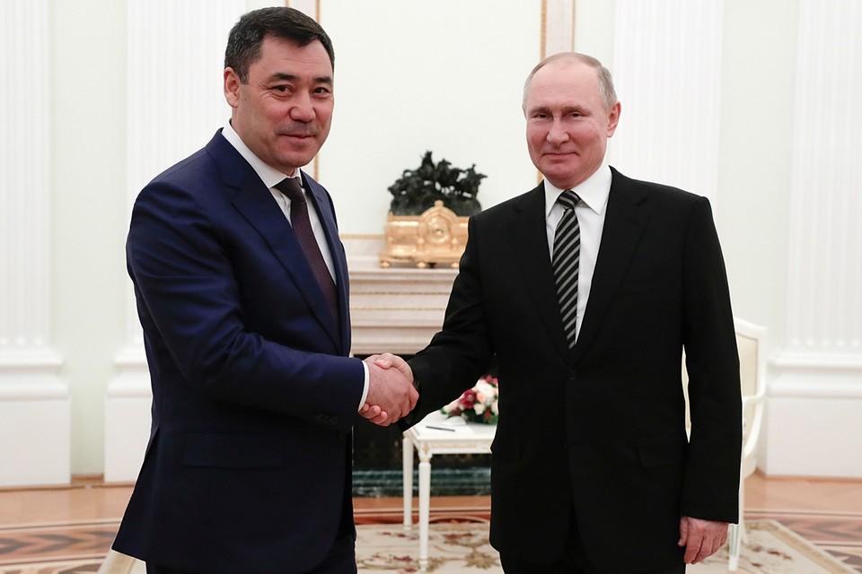 Садыр Жапаров прибыл в Россию с рабочим визитом