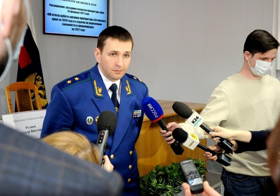 Заместитель генпрокурора РФ Дмитрий Демешин.