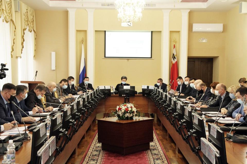 Доходы в бюджет Смоленска выросли на 1 млрд рублей. Фото: smolsovet.ru.