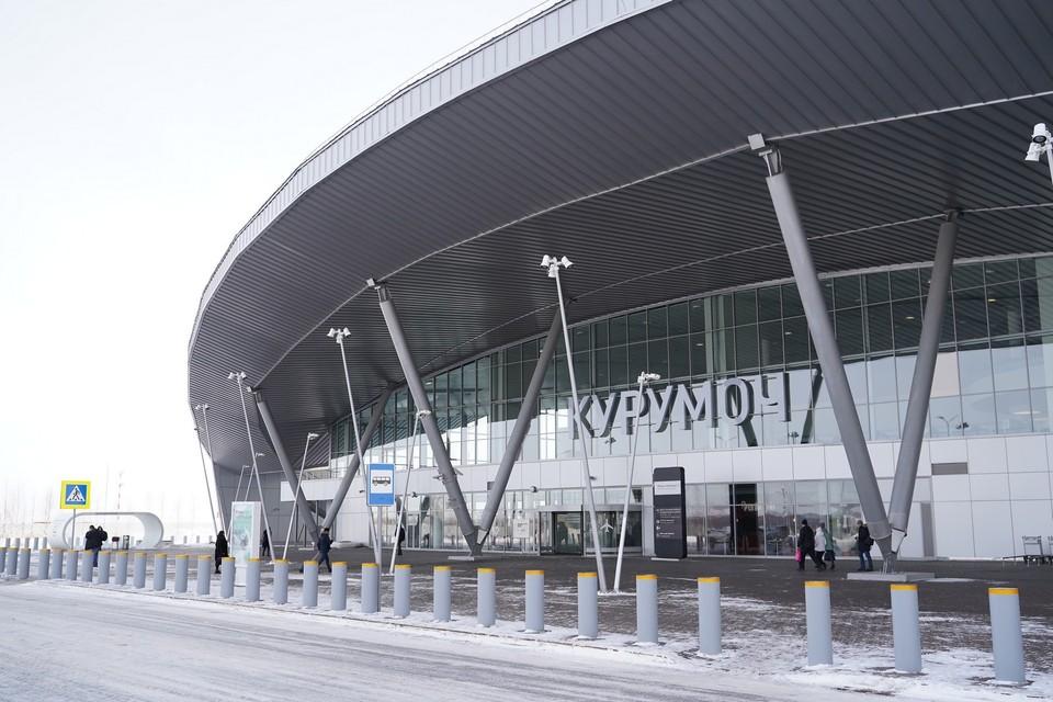 В аэропорту проводятся ремонтные работы