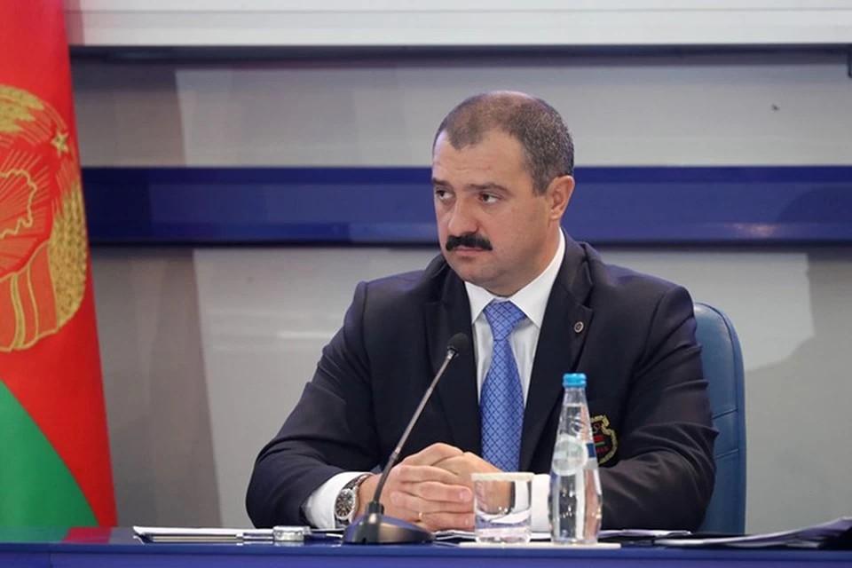 Виктор Лукашенко освобожден от должности помощника президента. Фото: sb.by