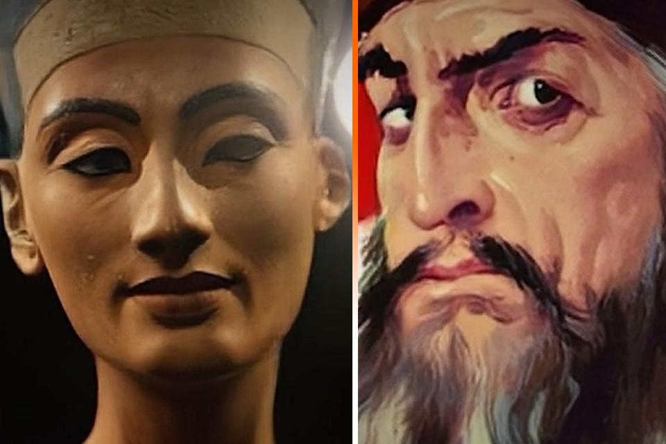 """Пользователи сервиса MyHeritage """"оживили"""" Ивана Грозного и Нефертити."""