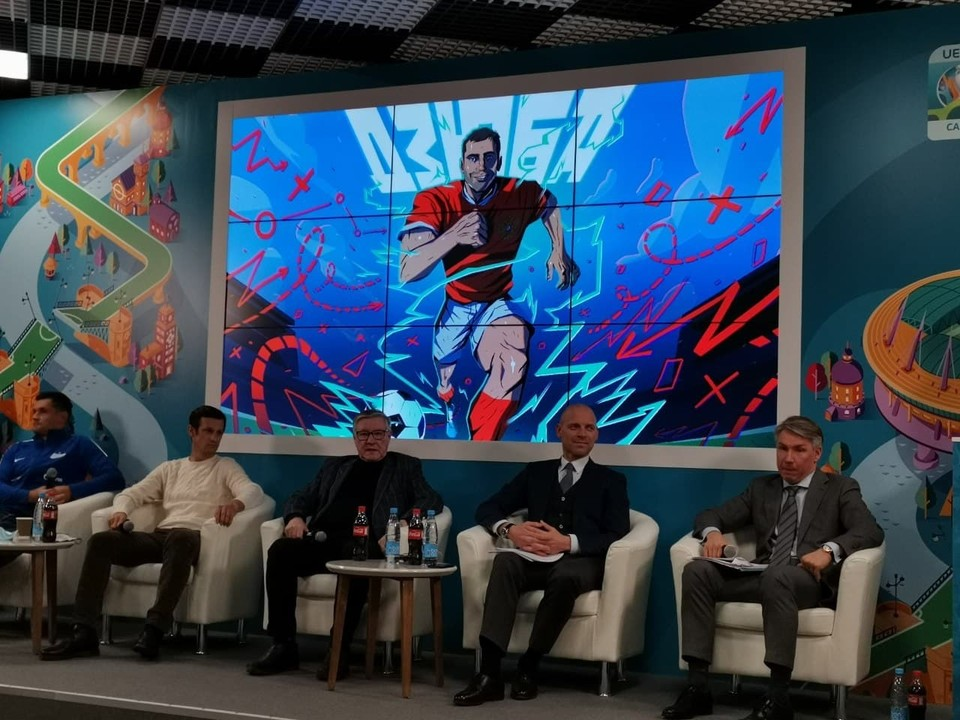 Комикс про Дзюбу - часть серии о сборной России на ЕВРО-2020