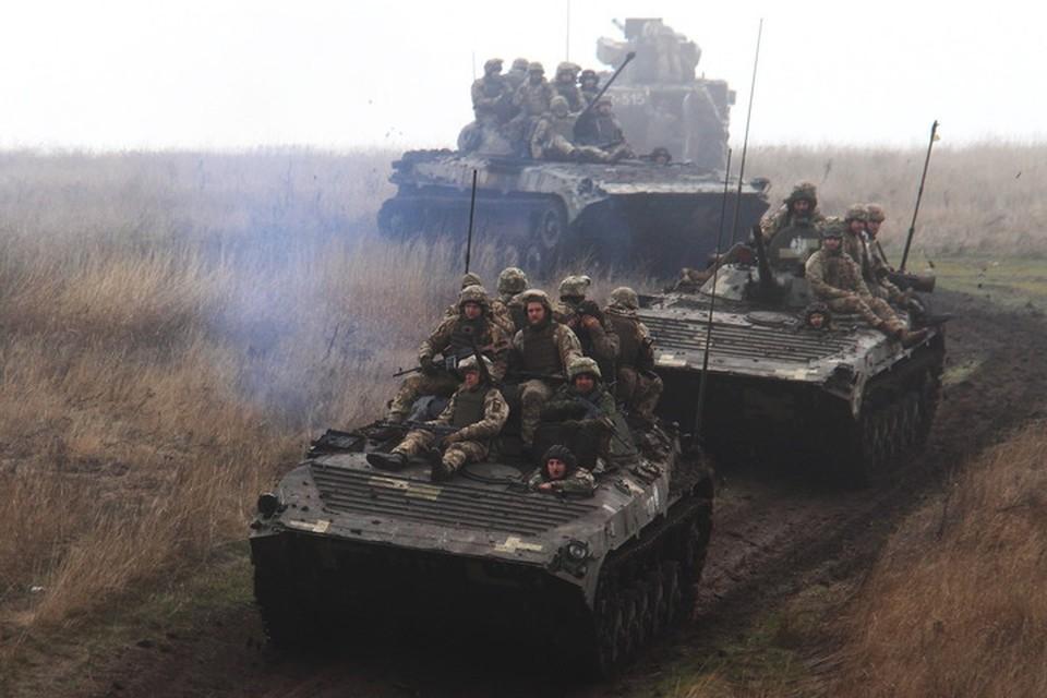 Прибывшие под Донецк мотопехотинцы 58-й бригады ВСУ обучены тактике штурма городов. Фото: Пресс-центр штаба ООС