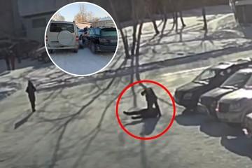 Из-за компенсации в несколько тысяч рублей сибиряк зарезал мужчину прямо у здания суда