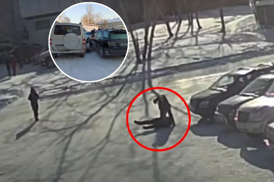 Из-за компенсации в несколько тысяч рублей сибиряк зарезал мужчину прямо у здания суда. Фото: СУ СК России по Иркутской области