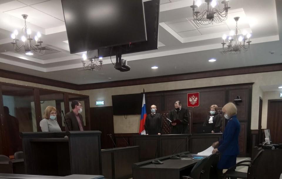 Марина Фирсова приезжала на заседание лично, но положительного результата это не принесло