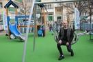 Пластик - на пользу: в Краснодаре Дима Билан открыл детскую площадку, созданную из из переработанного мусора