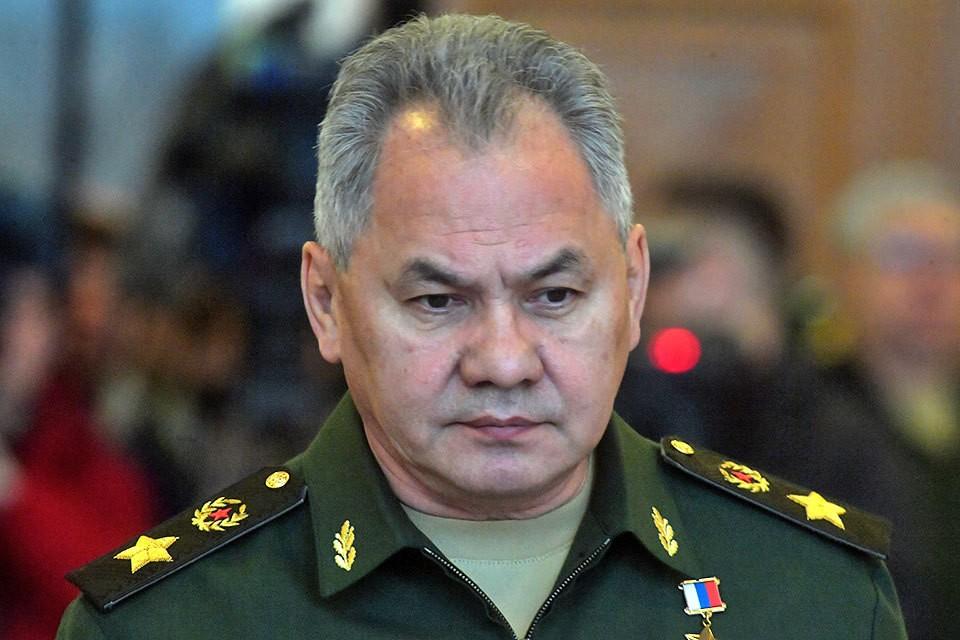 Министр обороны России Сергей Шойгу встретился с министром обороны Беларуси Виктором Хрениным.