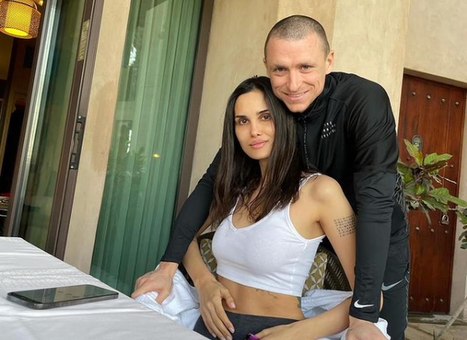 Алана и Павел Мамаевы. Фото: соц. сети, инстаграм-аккуант Аланы