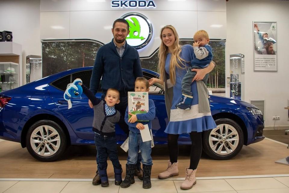 Автомобили SKODA зарекомендовали себя как надежные семейные автомобили