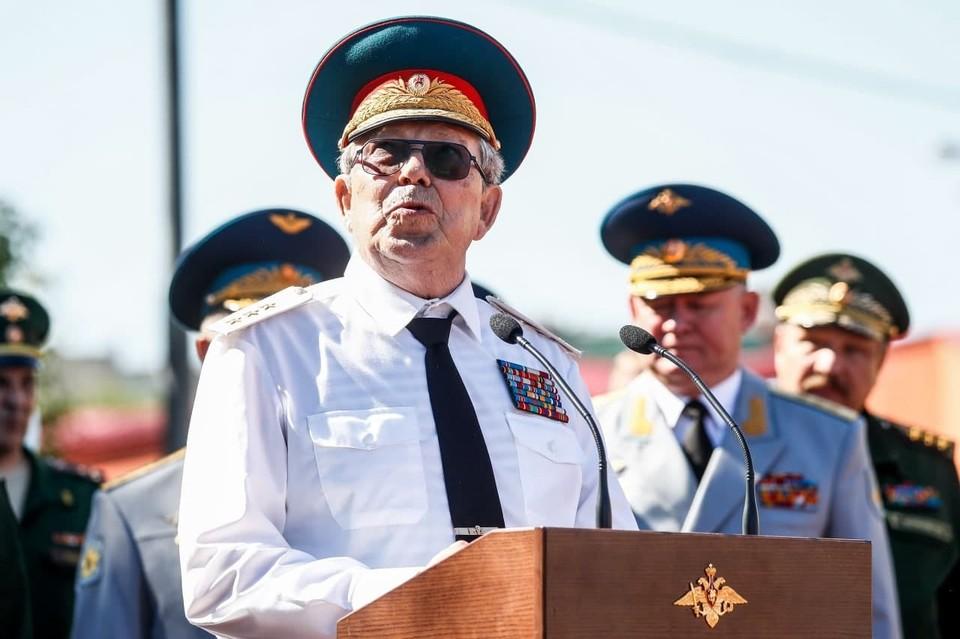 Умер Виталий Маргелов. Фото: Артем Геодакян/ТАСС