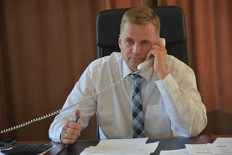 Александр Виноградов два месяца проведет под домашним арестом. Фото: администрация города Троицка Челябинской области / Vk.com