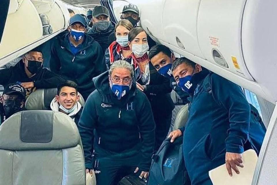 Авиакомпанию «Белавиа» выбрали перевозчиком сборной Гондураса по футболу.