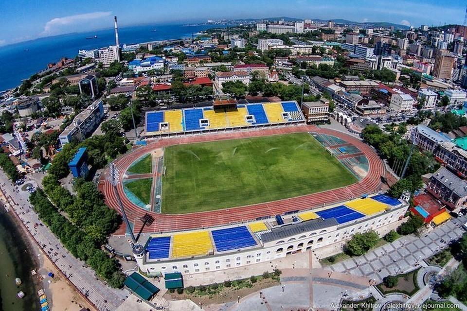 "Стадион ""Динамо"" во Владивостоке. Фото: Александр Хитров"