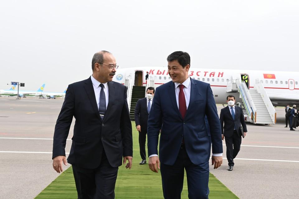 Глава правительства прибыл в Ташкент.