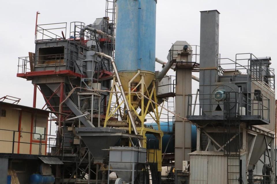 На асфальтобетонных заводах, которых в области 15, заканчивается подготовка к старту работ