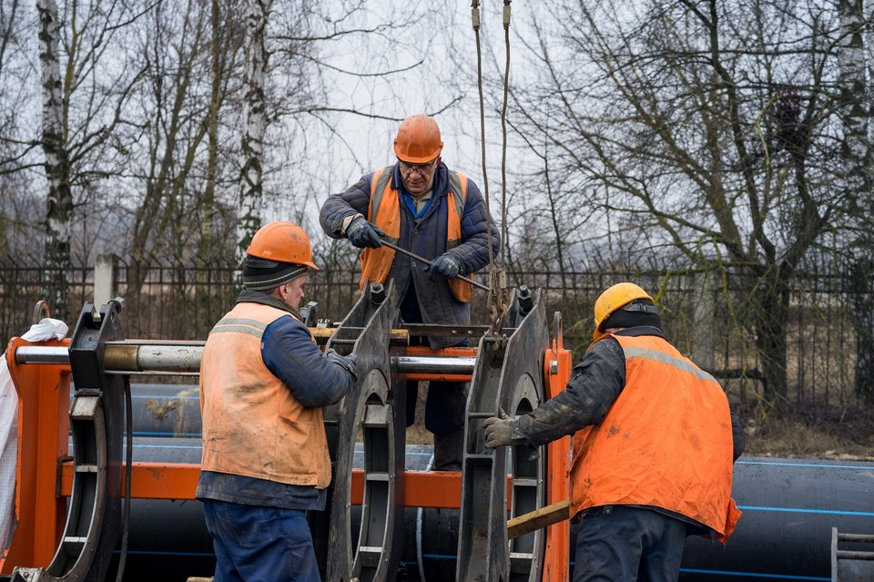 В Орле начали строительство водовода из Заводского района в Советский