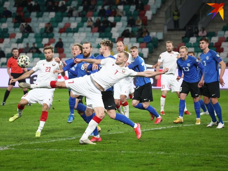 Сборная Беларуси в стартовом матче квалификации к ЧМ-2022 обыграла Эстонию.