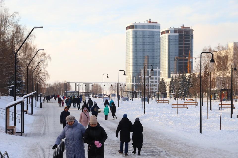28 марта в Ижевске ожидается потепление и гололед