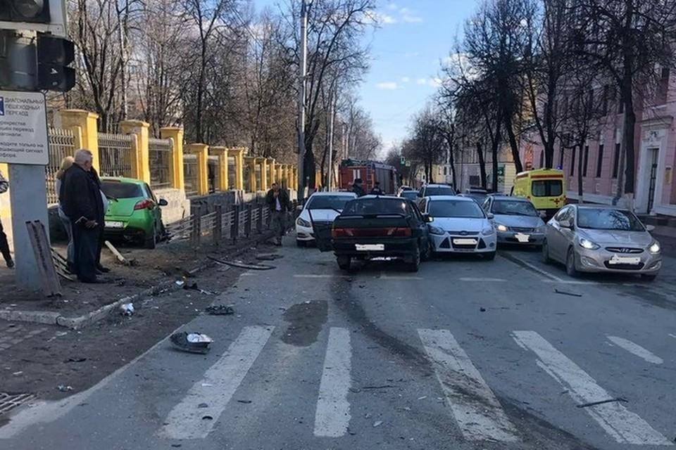 Авария случилась 28 марта около 13.27 на улице Фокина.