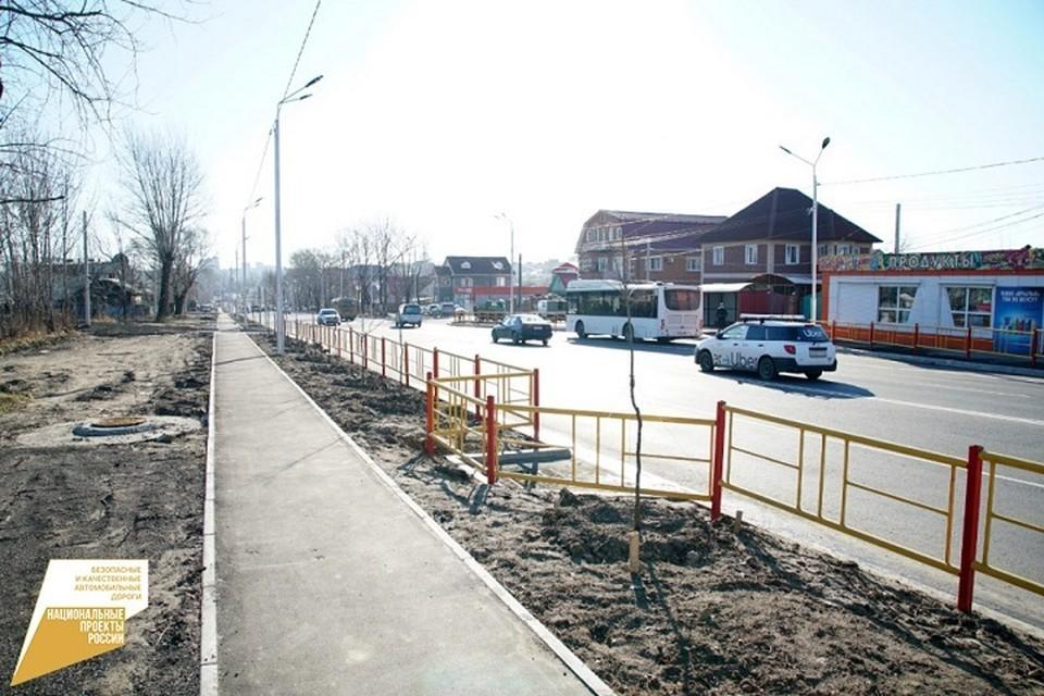 Дороги к социально-значимым учреждениям отремонтируют в Хабаровском крае