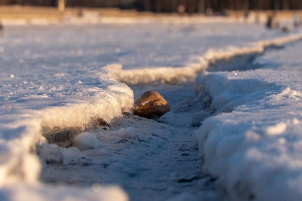 Спасатели в очередной раз обратились к горожанам с призывом - не выходить на лед.