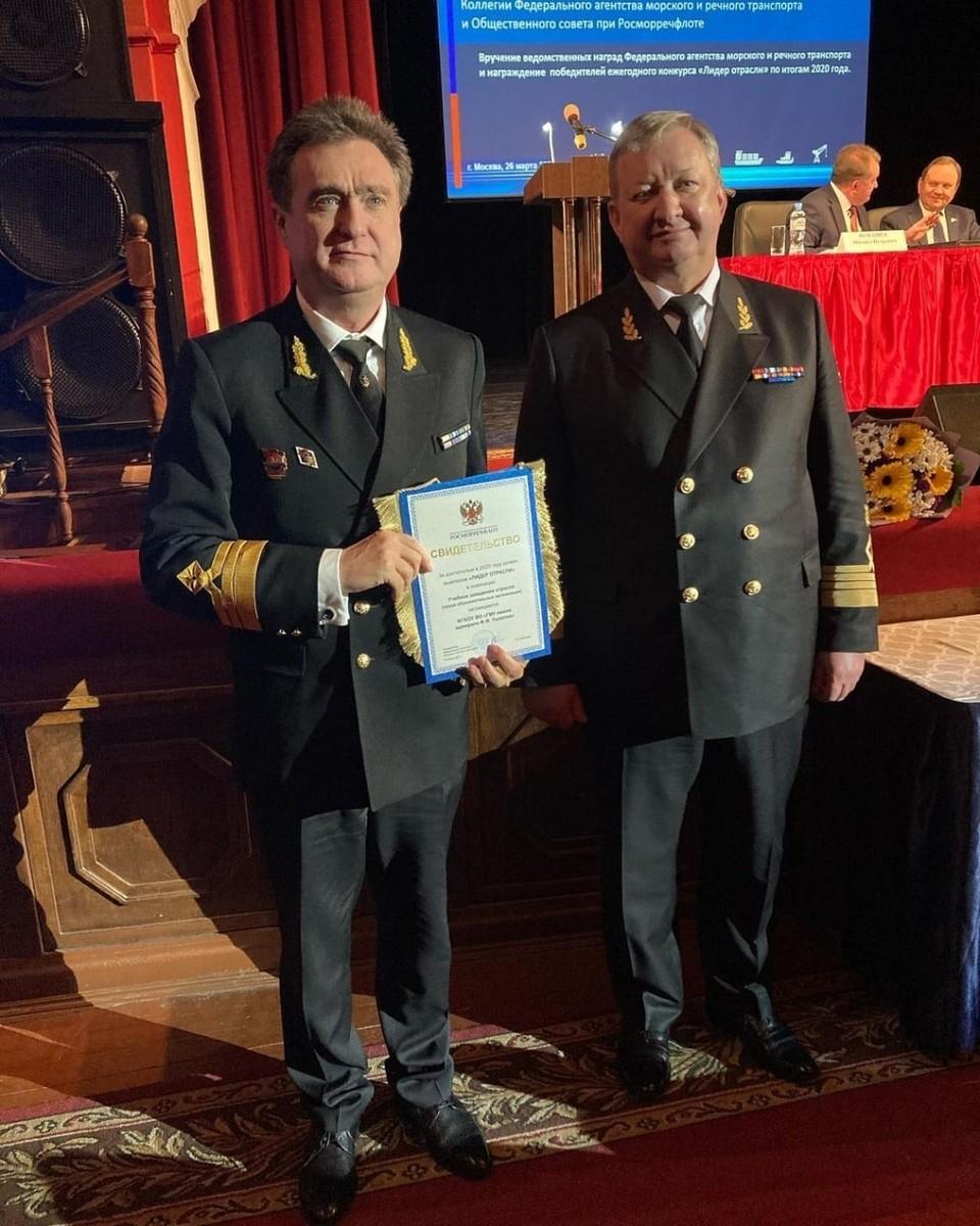 Фото предоставлено пресс-службой Государственного морского университета имени адмирала Ушакова