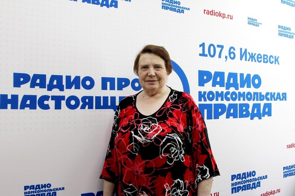 врач-педиатр, заслуженный работник здравоохранения Удмуртии и садовод Тамара Хакимова