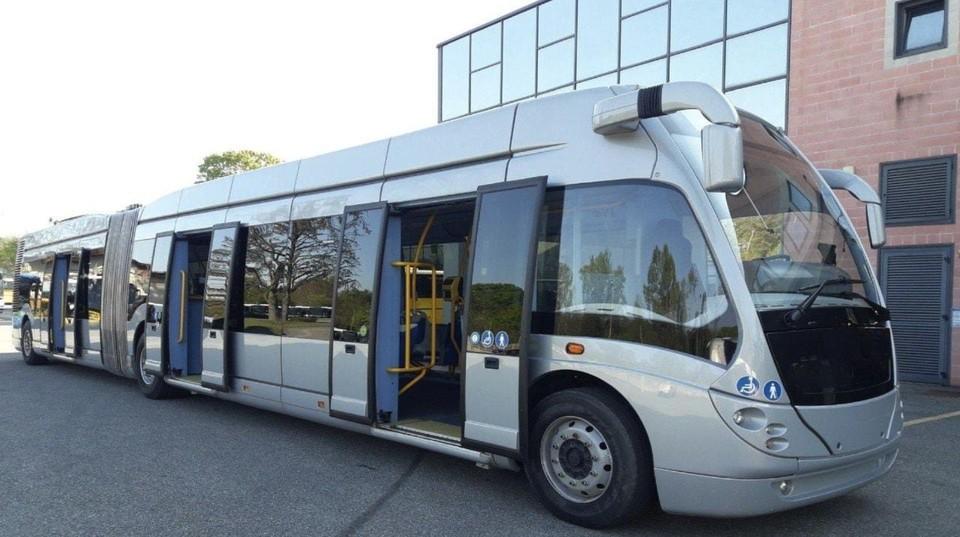 Кишинев приобретет 2 новых современных двухзвенных троллейбуса производства Италии. Фото:ionceban.md