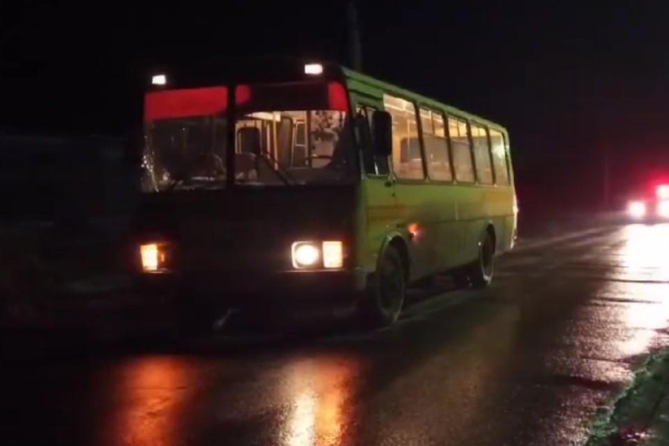 Пьяный водитель автобуса из Нижнеудинска сбил пешехода