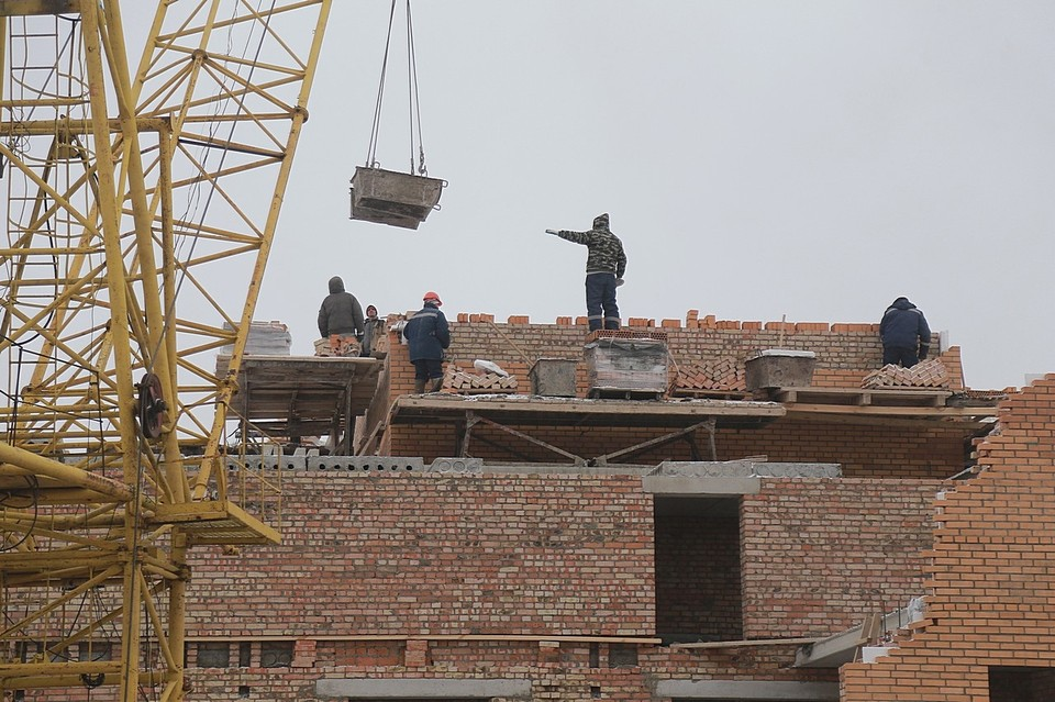 В Красноярске достроят два проблемных дома комплекса «Нойланд-Черемушки» на Шевченко