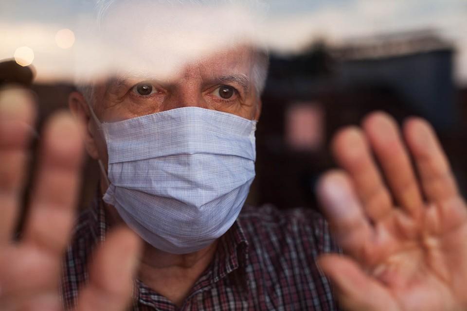 В Москве растет количество заражений и госпитализаций пожилых людей