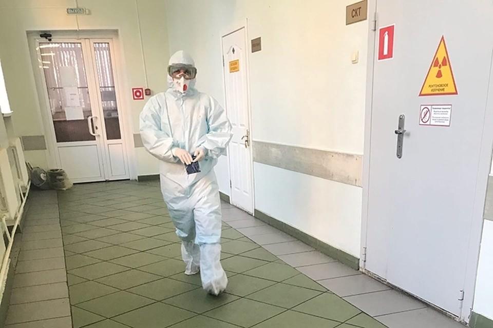 Сейчас перераспределяют лекарства из диагностического центра.