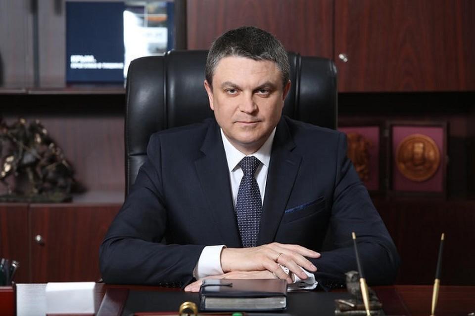 Леонид Пасечик сделал заявление. Фото: Администрация Главы ЛНР