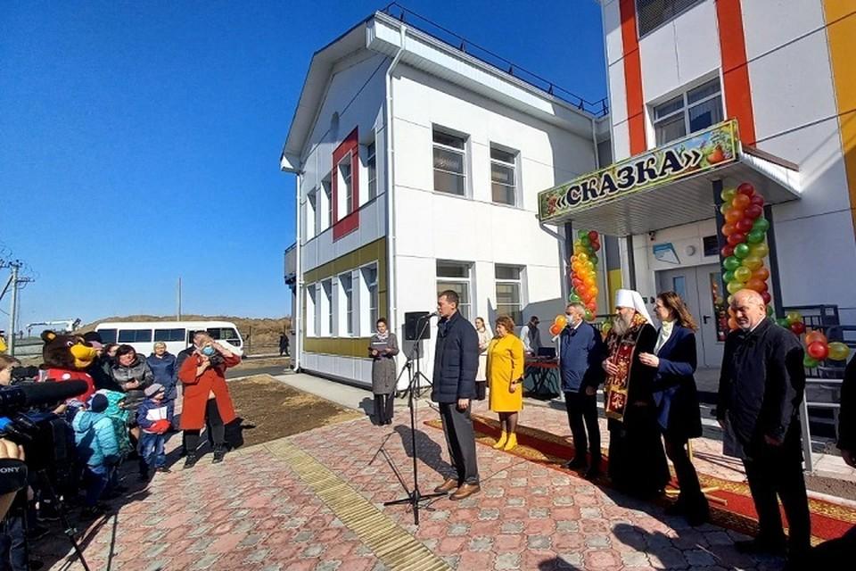 Детский сад открылся в Гаровке-2 Хабаровского района