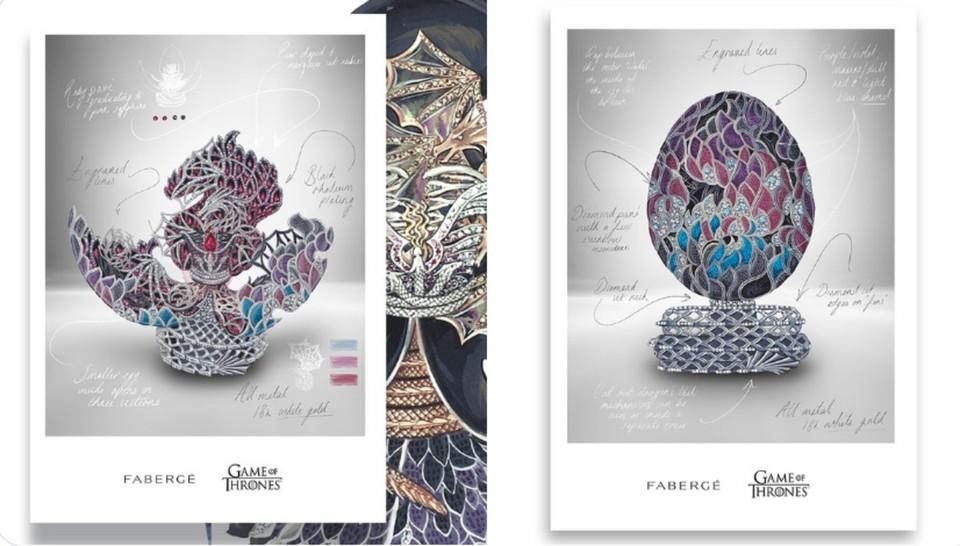 """В честь десятилетия """"Игры Престолов"""" выпустят яйцо """"Фаберже"""" за 2 миллиона долларов. Фото: Faberge"""