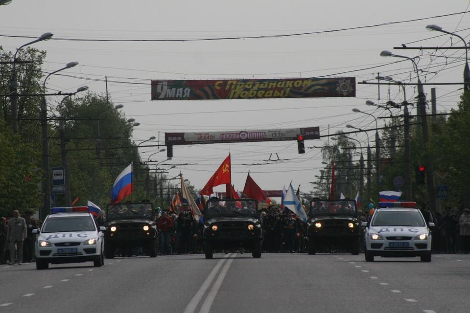 Последний раз во Владимире день Победы с размахом отмечался в 2019 году.
