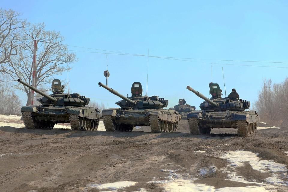 В Российской армии начались большие учения
