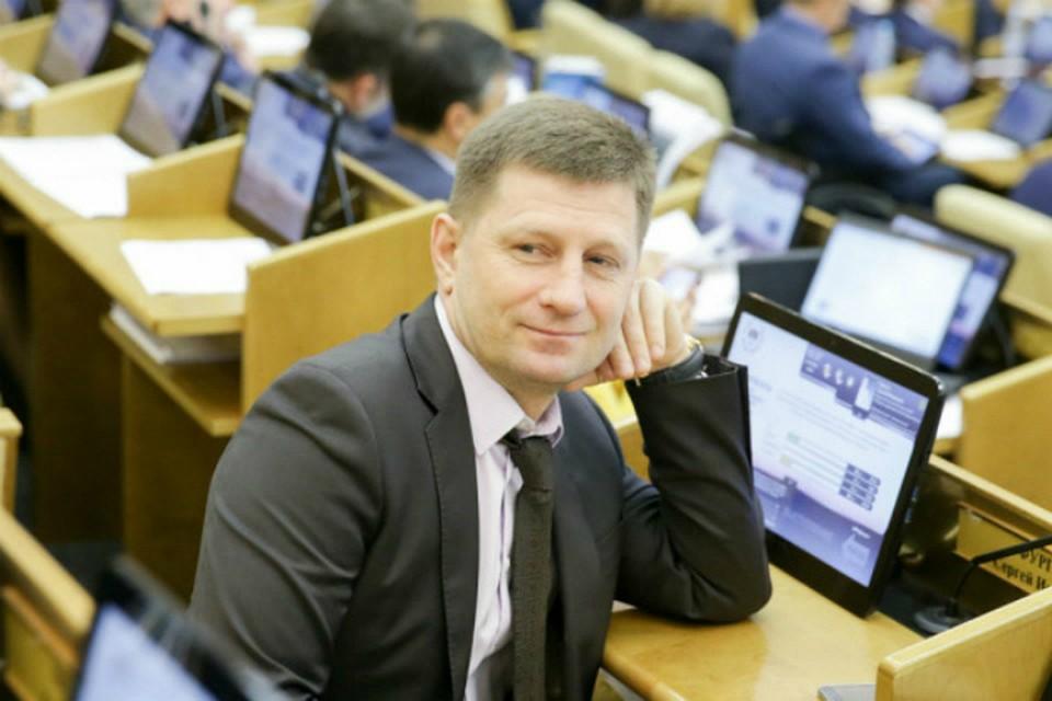Тест на ковид Сергей Фургал сдавал 6 апреля. Фото: ЛДПР