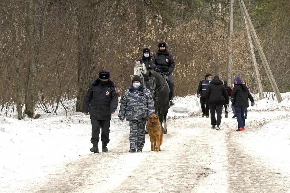 В Кемерове начали патрулировать Рудничный бор. Фото: Администрация города Кемерово