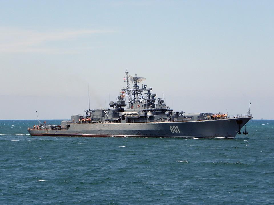 Сторожевой корабль «Ладный» Черноморского флота на ходу. Фото: kchf.ru