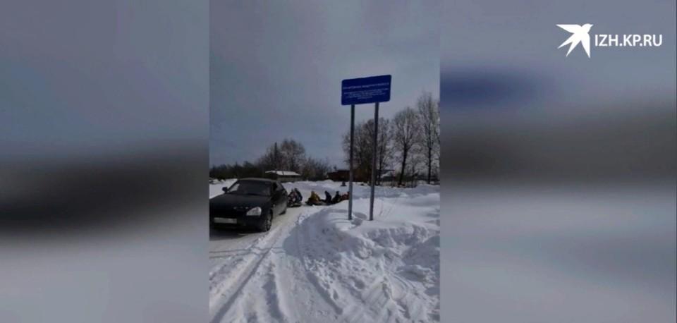 Житель Удмуртии понес ответственность за катание детей на привязанных к машине тюбингах