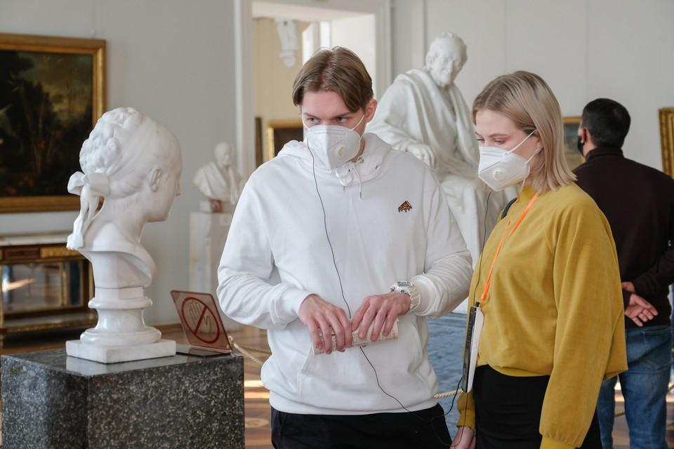 Поборникам нравственности не понравилась обнаженная скульптура в Эрмитаже.