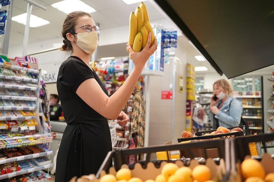 В магазинах исчезли бананы