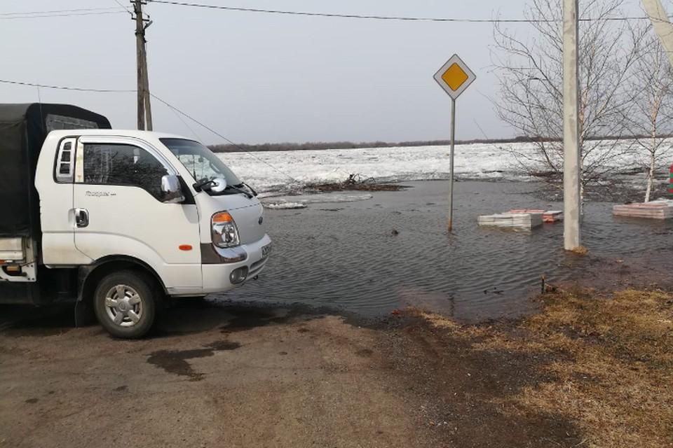 11 апреля уровень Уссури составил не критические, но настораживающие 442 сантиметра