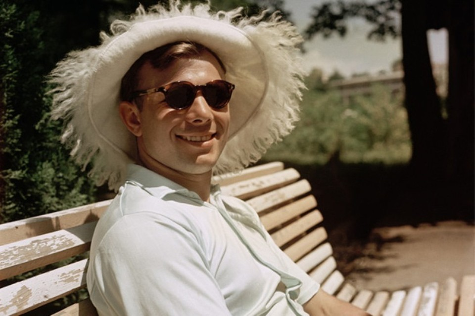 Юрий Гагарин в Сочи. 1961 год. Фото: museum.ru