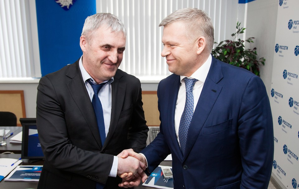 Алексей Дёмкин (справа) и Эдуард Илларионов отметили, что встреча была плодотворной.
