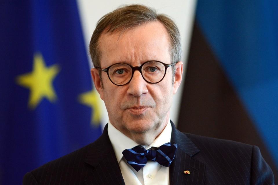 Бывший президент Эстонии Тоомас Хендрик Ильвес